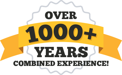RAM Inc. has over 1000+ years of combined experience!